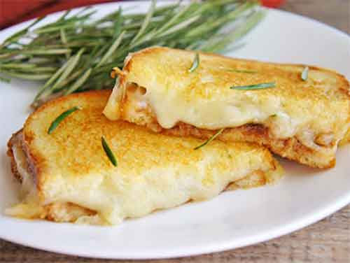 Rosemary Apple Butter Grilled Cheese Sandwich