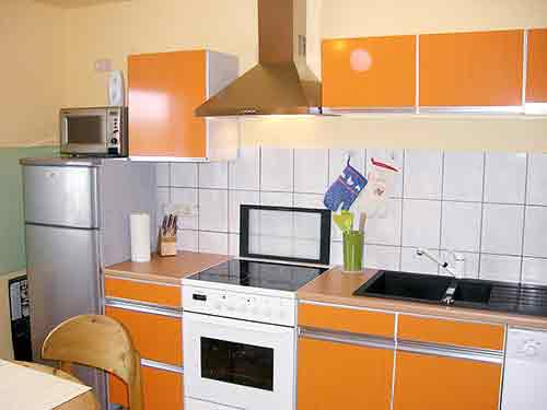 Leere Küche
