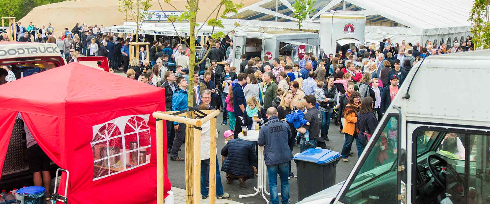 Erfolgreiches Foodtruck Catering bei RIBE