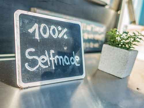 100% selfmade