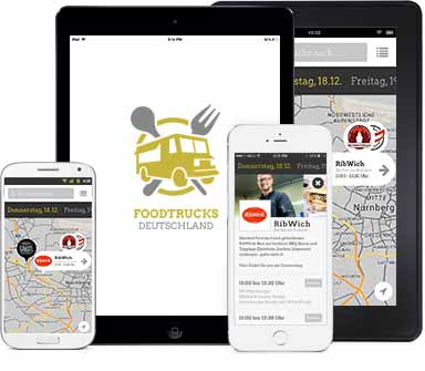 Foodtruck App Screenshot