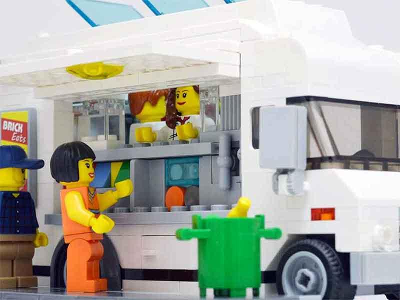 LEGO Food Truck