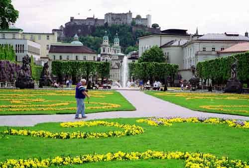Impression Mirabellplatz Salzburg