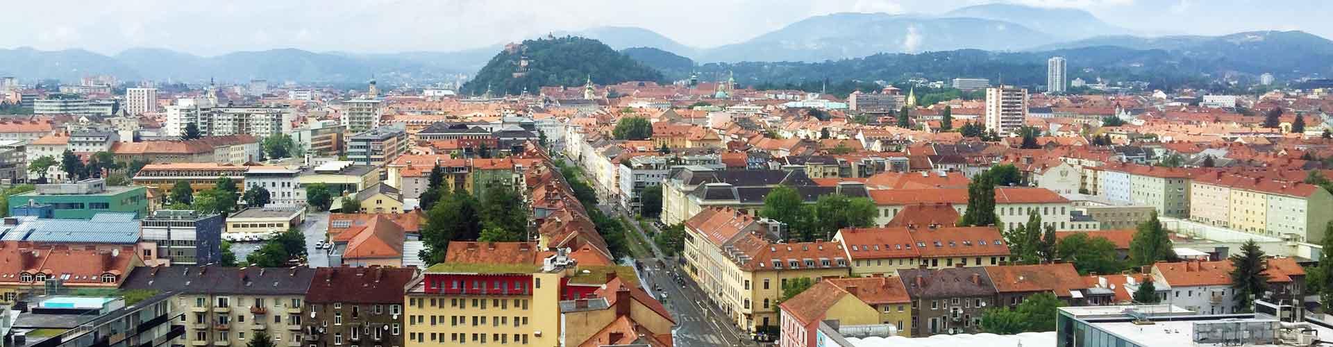 Graz Überblick Stadt