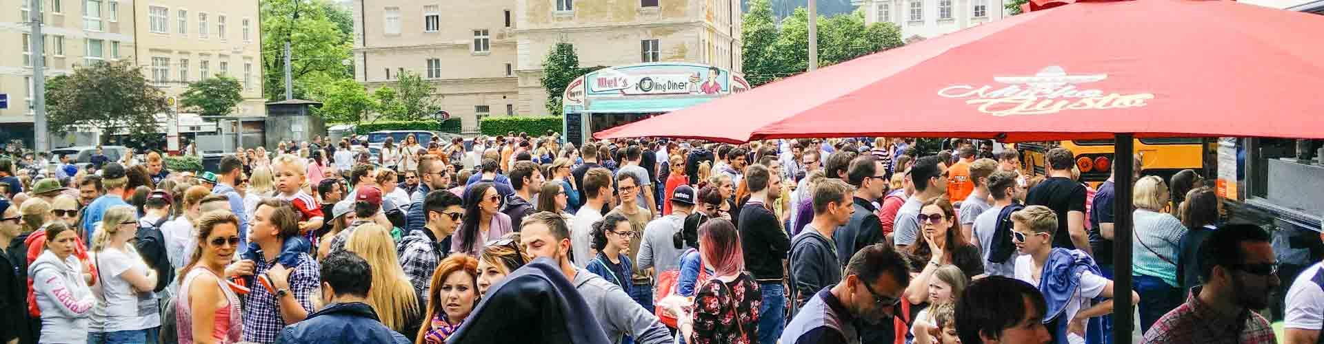 1. Food Truck RoundUp Salzburg am Samstag, 16. Mai 2015